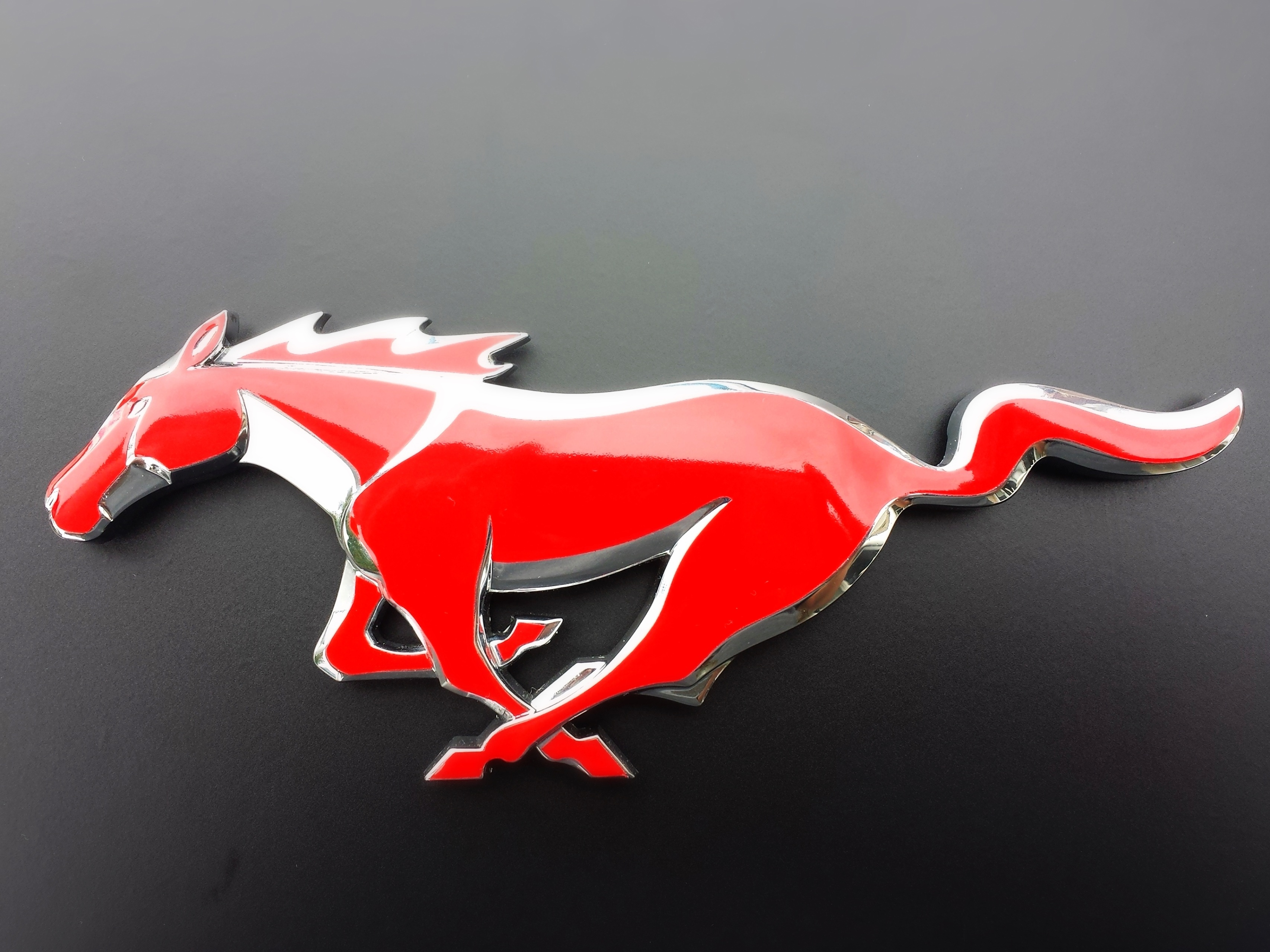 Ford Mustang Emblem Aka Quot The Pony Quot Badgeskin